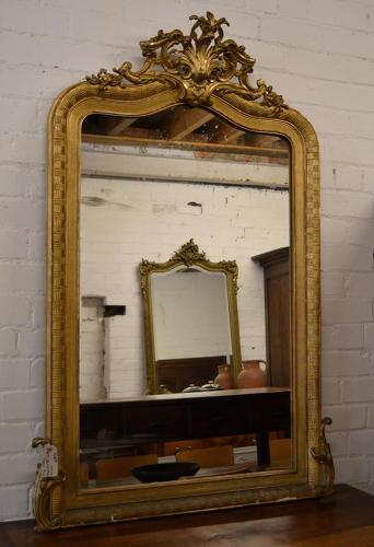 Mid 19thC Napoleon III Mirror