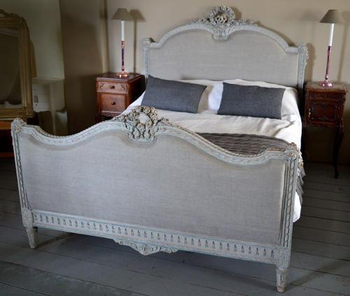 Kingsize Louis XVI 19thC Bedstead