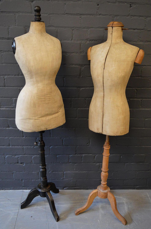 Antique French Tailors Dummy / Mannequin c1900