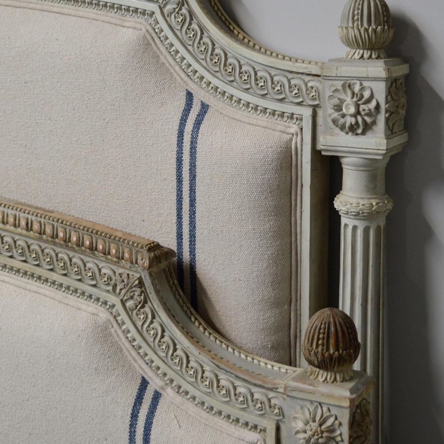 19thC Louis XVI style bedstead