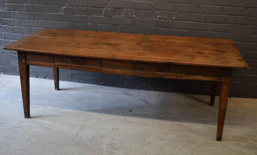 19th Century Oak Farmhouse table