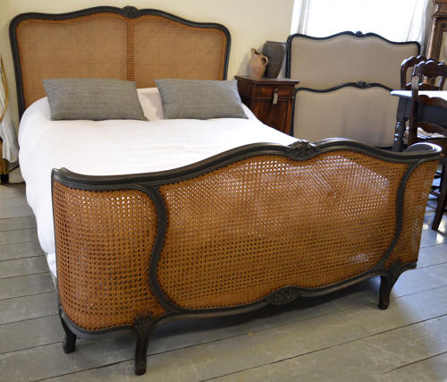 Louis XV style Double caned bedstead