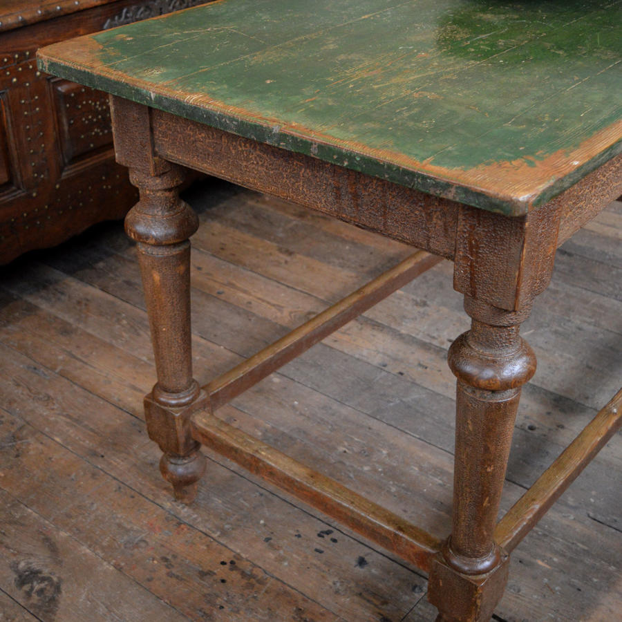 19thC Vineyard Harvest table