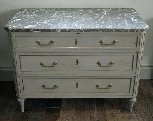 18th Century Louis XVI Marble top Commode