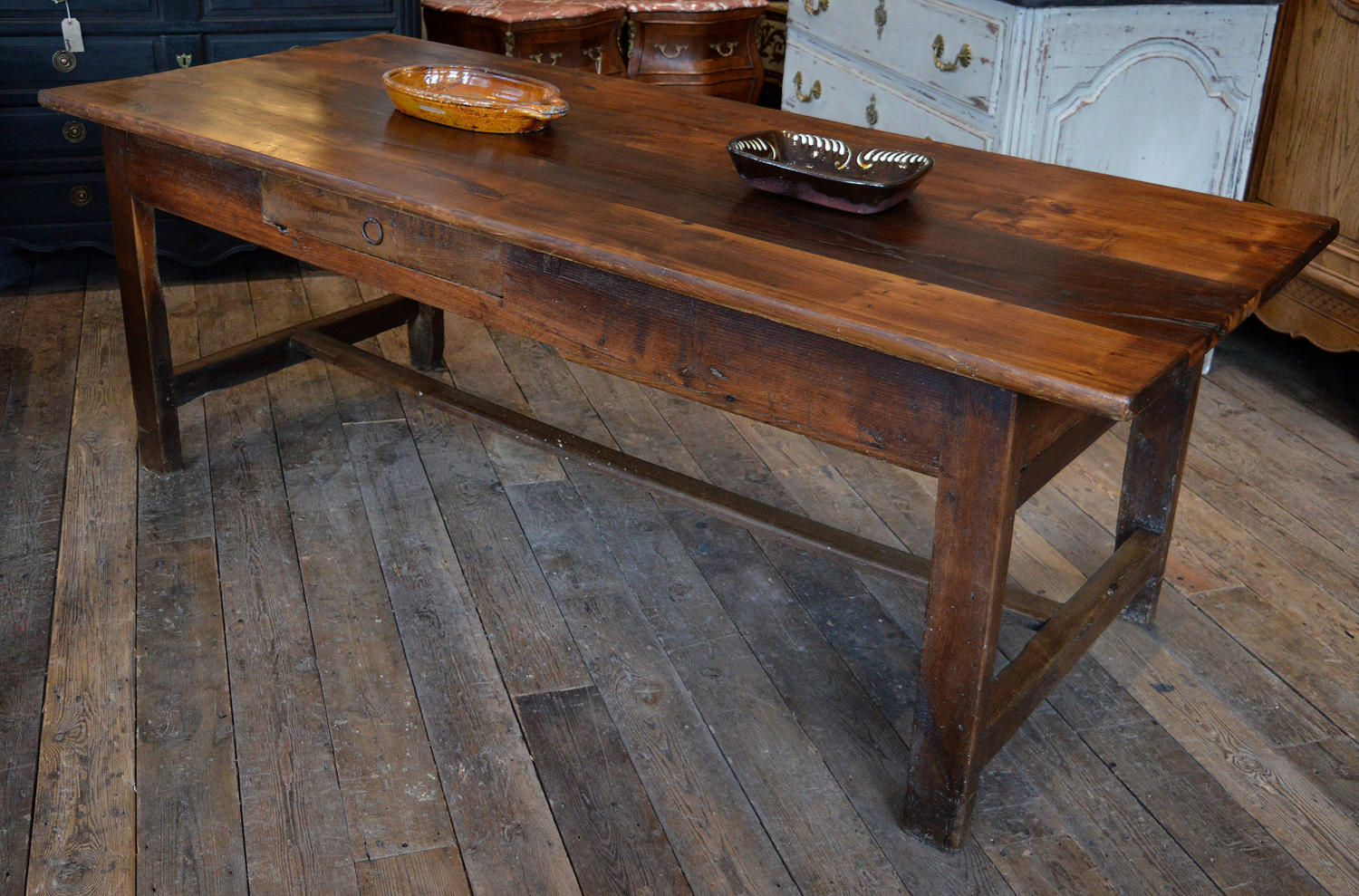19th Century Breton Chestnut Table