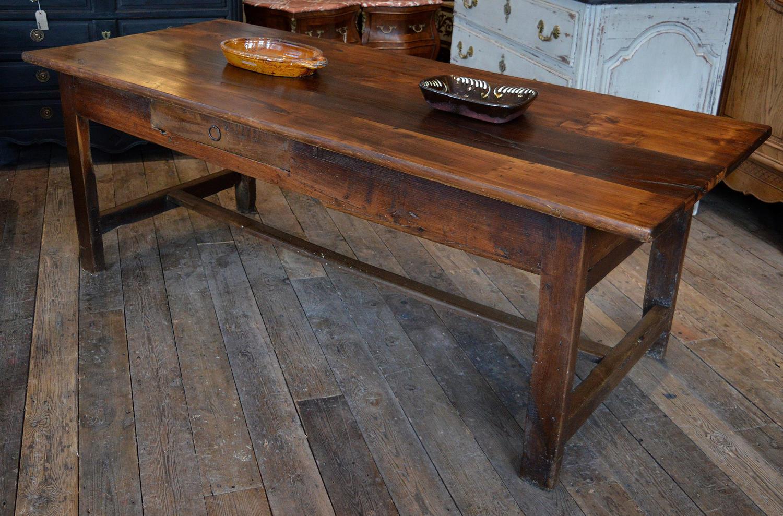 19th Century Breton Chestnut Table