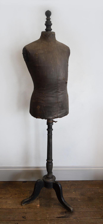 19th Century Stockman of Paris Tailors Mannequin
