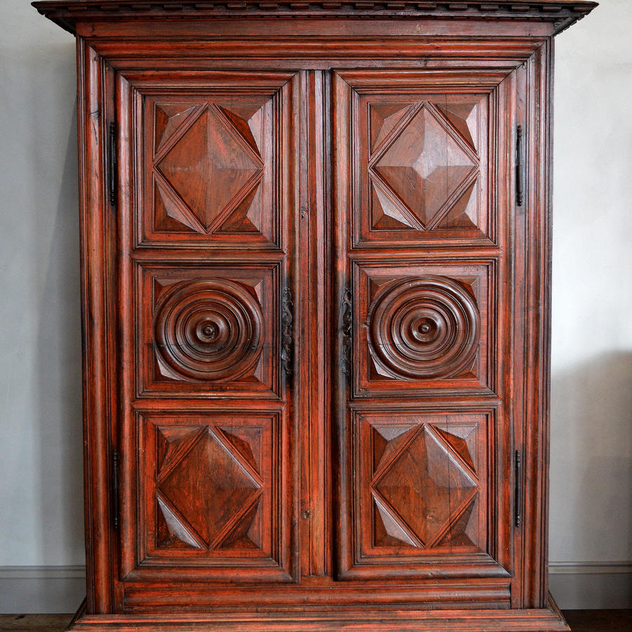 Mid 18th Century Louis XIII style Guerande armoire