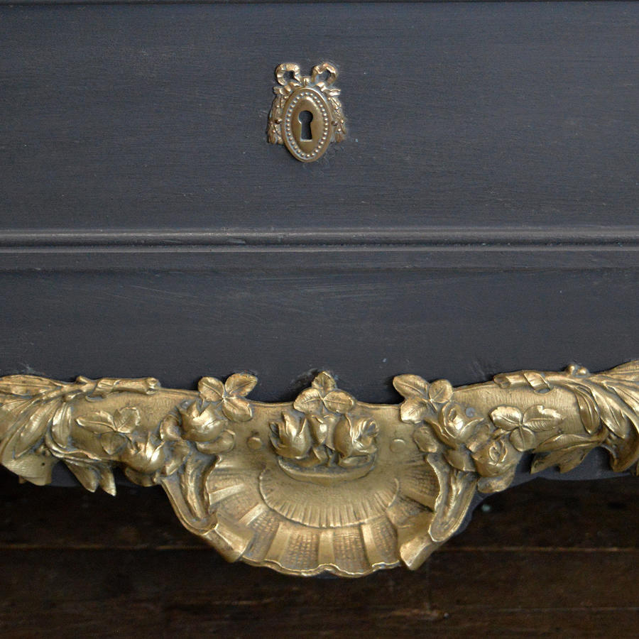 Louis XVI style painted commode c1900