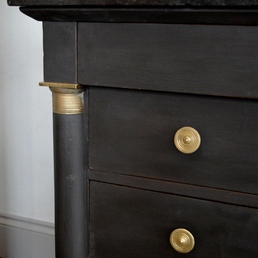 Large Early 19th Century Empire commode