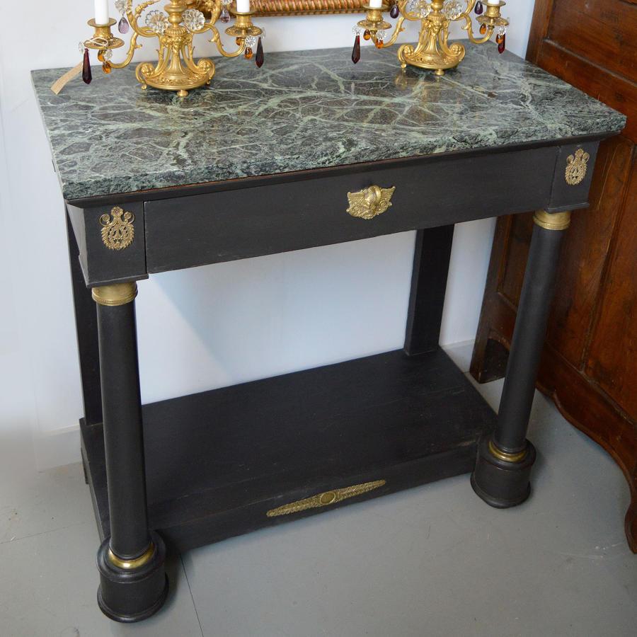 Late 19th Century Empire Console table