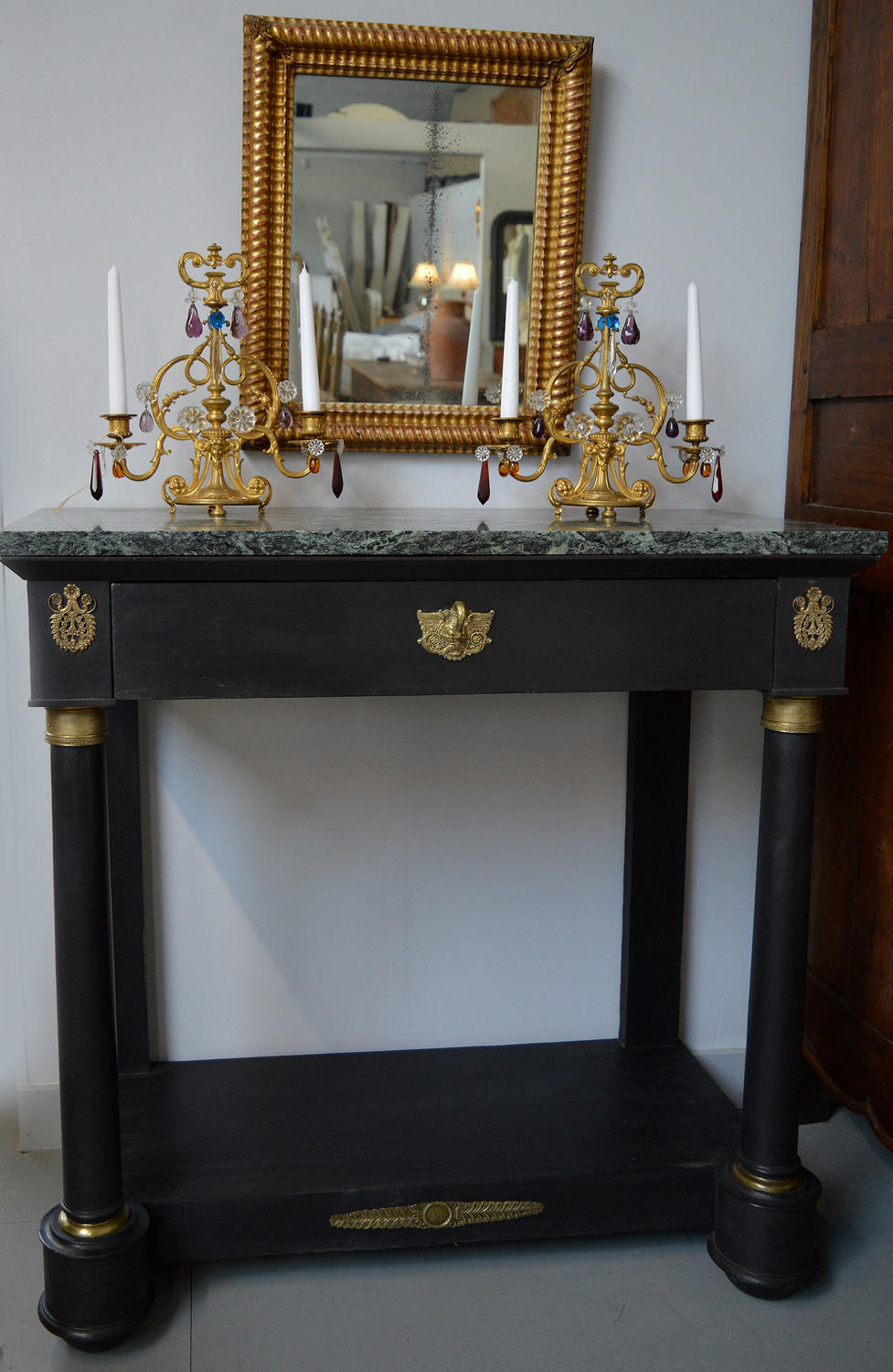 Late 19th Century Empire Console table