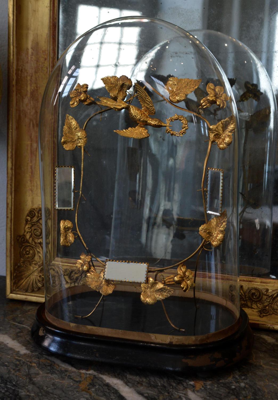 Antique French 19th Century globe de mariée