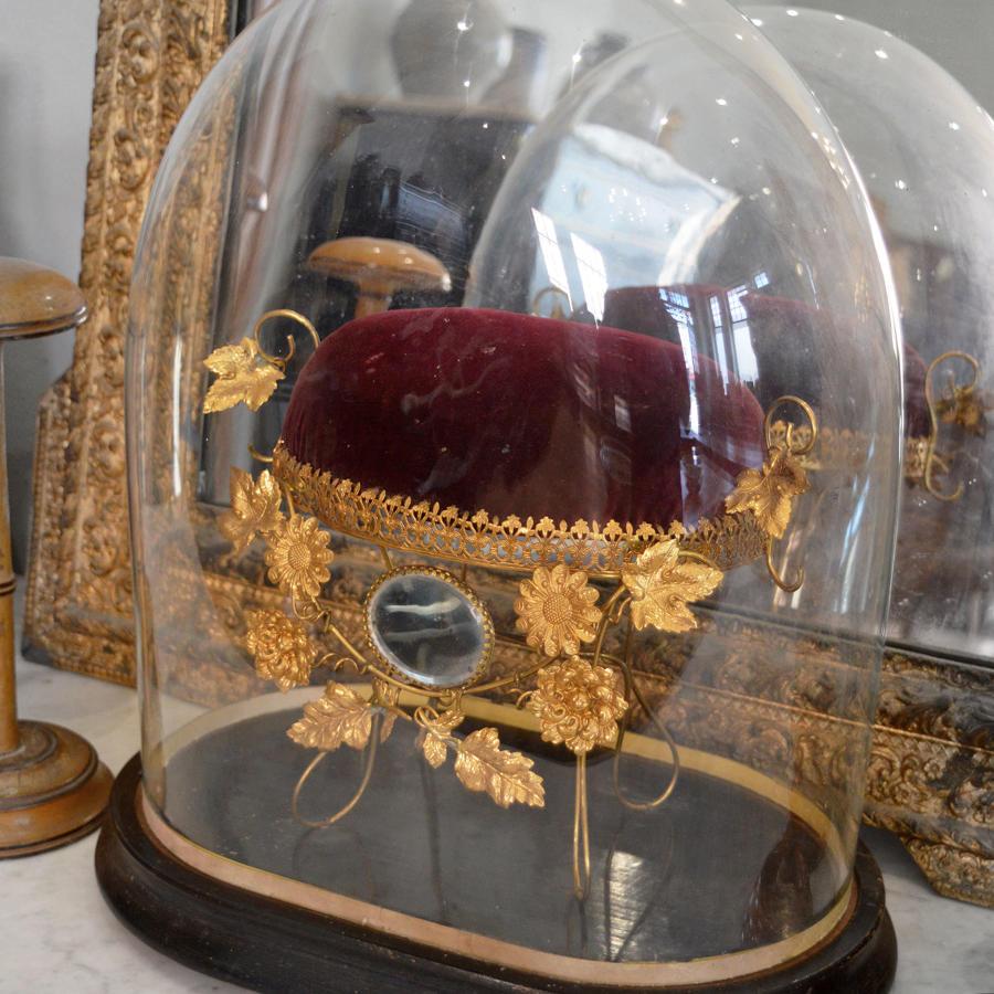 Large 19th Century French globe de mariée