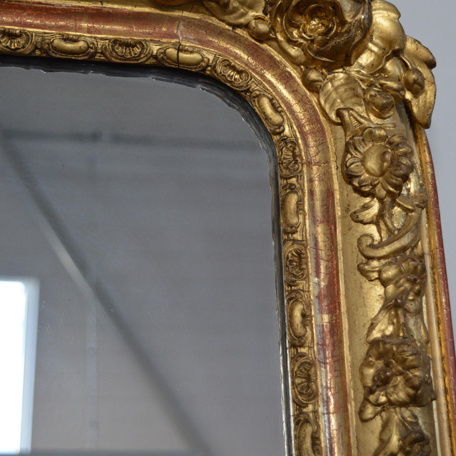 Early 19th Century Louis Philippe Mirror