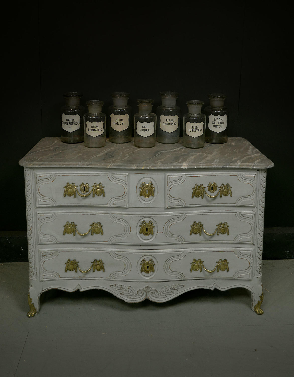 18th Century Louis XVI painted commode c1770