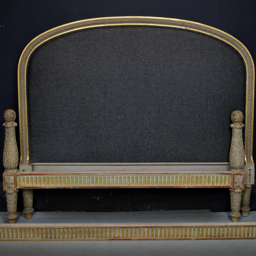 King-size 19th Century Louis XVI style bedstead
