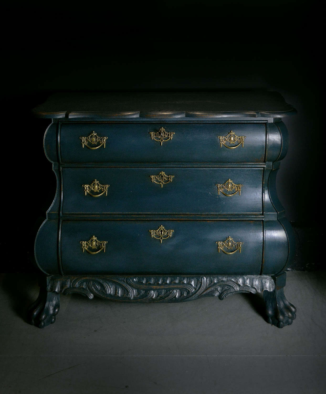 19th Century Dutch Bombe Commode