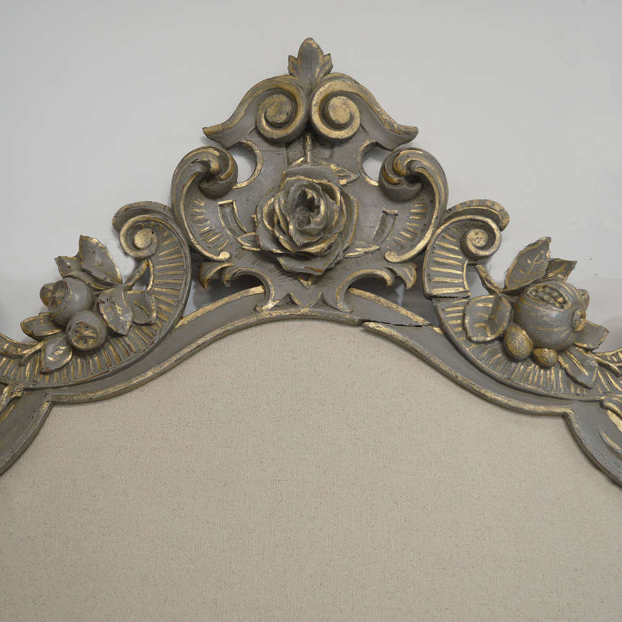 19th Century Carved Venetian Headboard