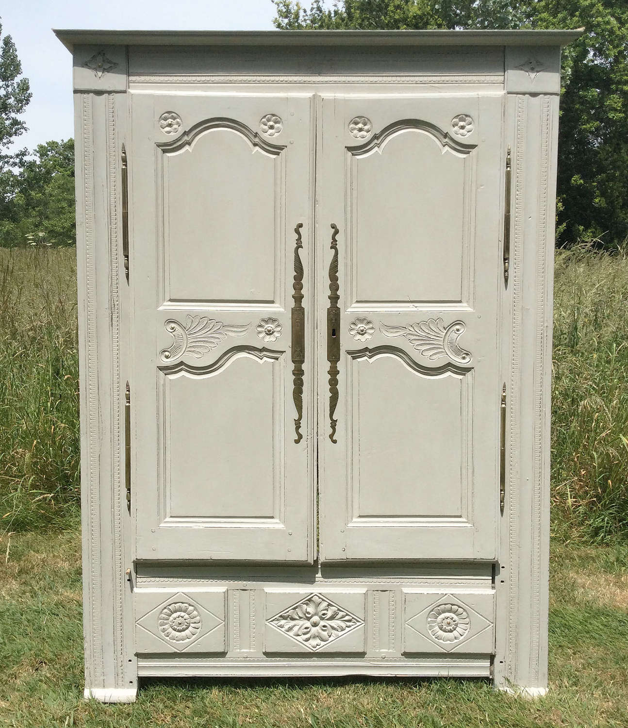 19th Century Breton Marriage Armoire