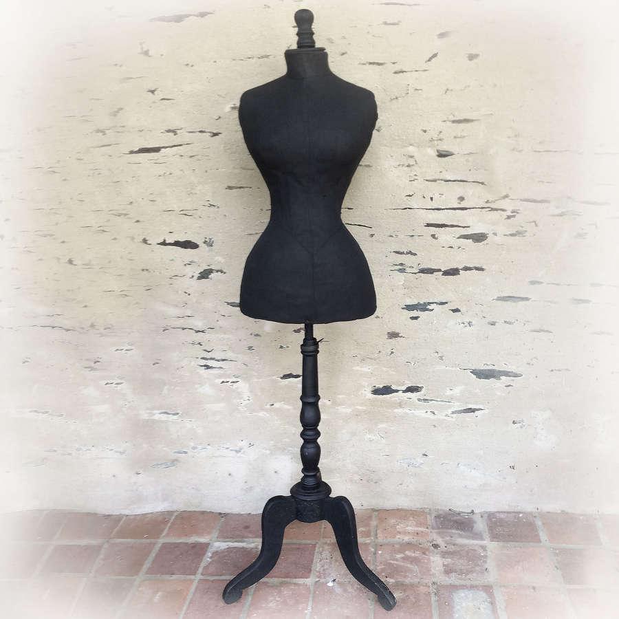 19th Century Wasp Waist tailors Mannequin
