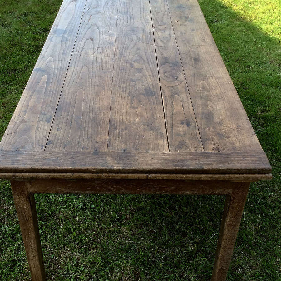 Rare 19th Century Extending Farmhouse Table