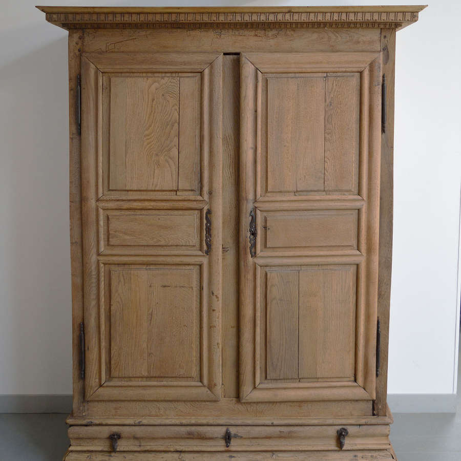 Early 18th Century Louis XIV oak armoire