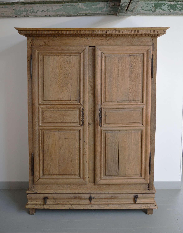 Early 18th Century Louis XIV oak armoire