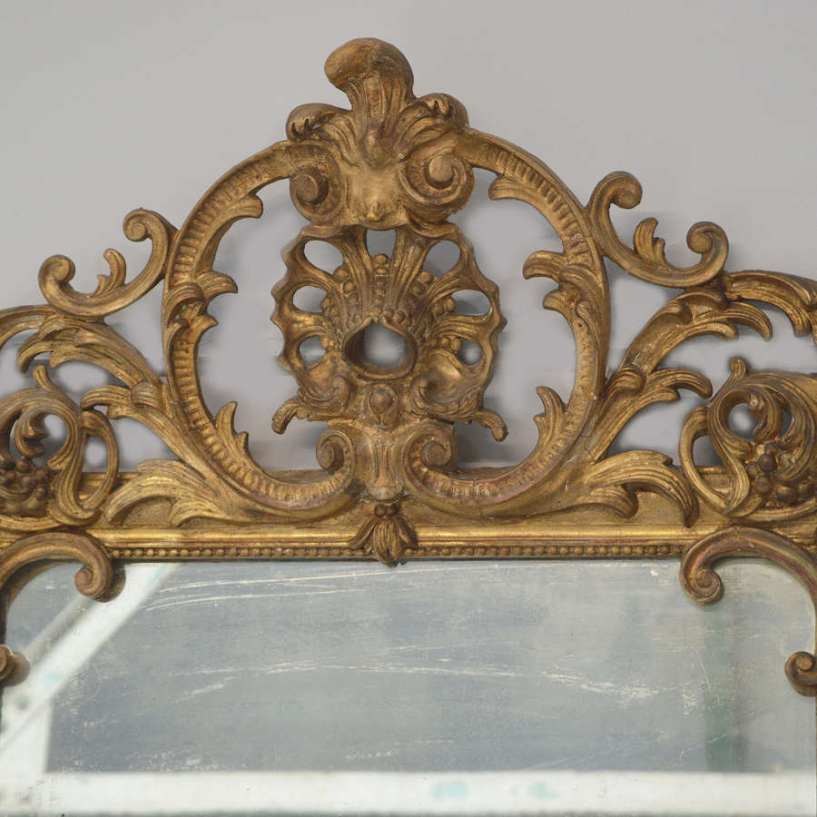 Early 19th Century Louis XIV style Gilt Mirror