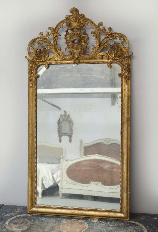 Early 19th Century Louis XIV style Gilt Mirror