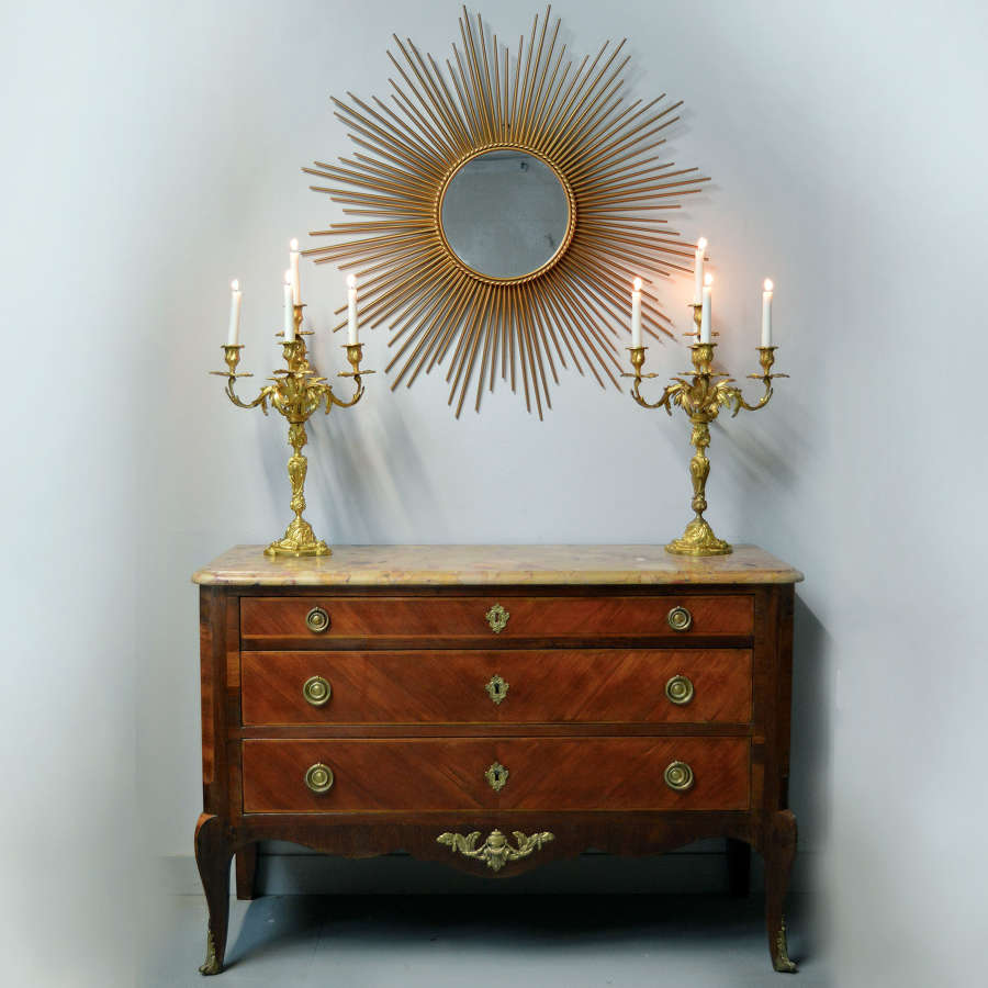 Mid 19th Century Transitional style commode