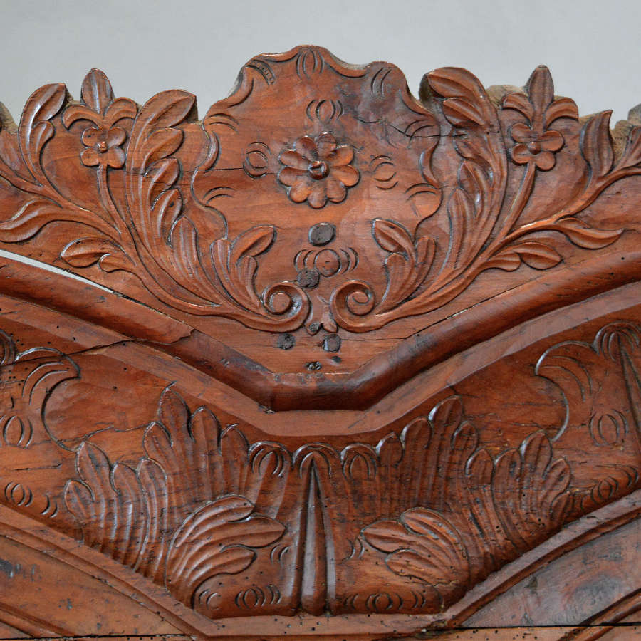 Late 18th Century Rennes Marriage Armoire
