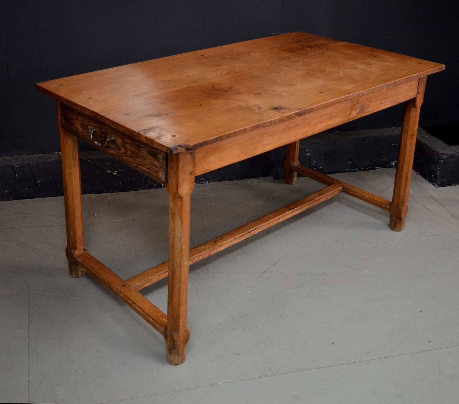 Small 19th Century Elm Refectory table