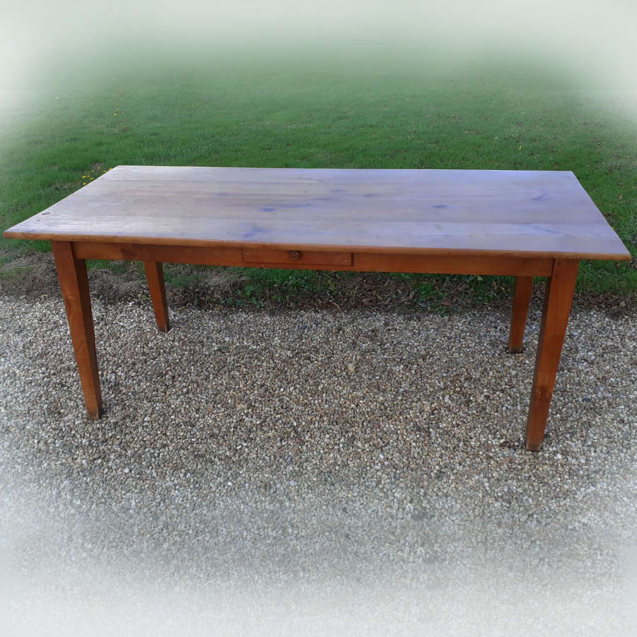 Light Cherry farmhouse table c1910-20