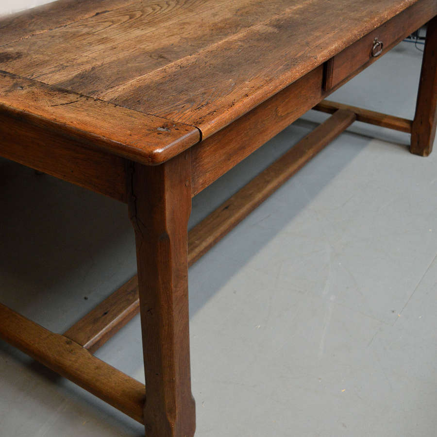 Late 19th Century Oak Refectory Table