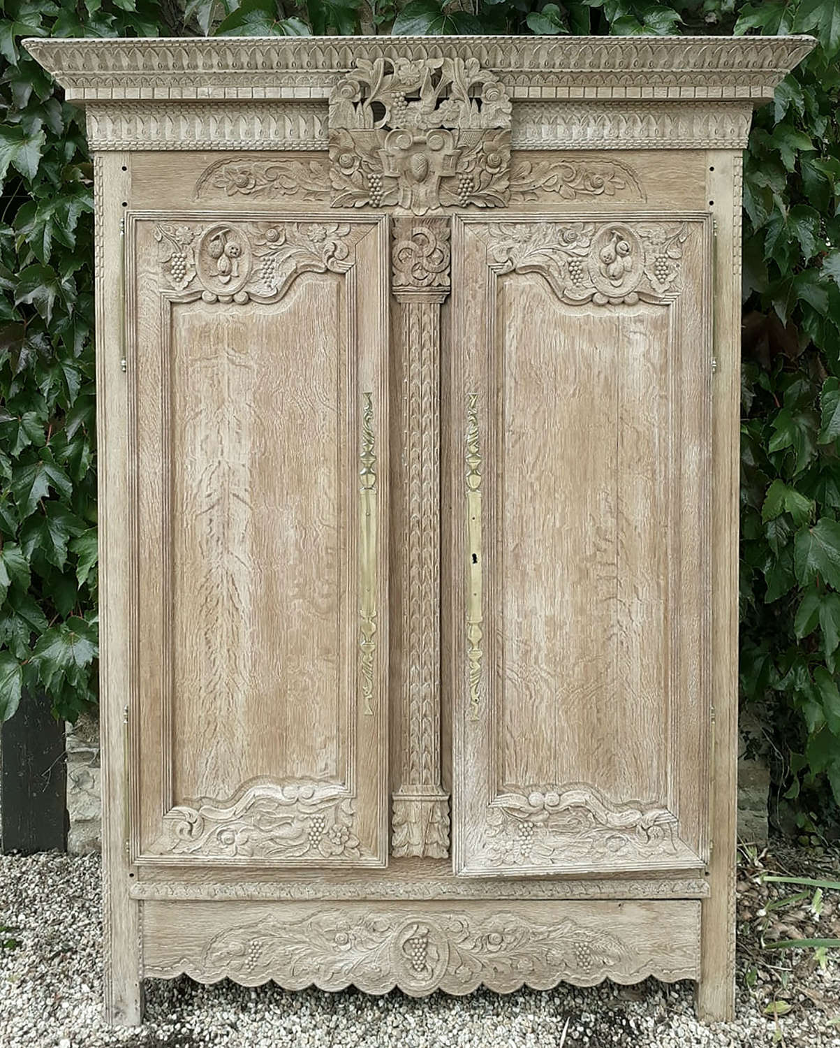 19th Century Norman Marriage Armoire