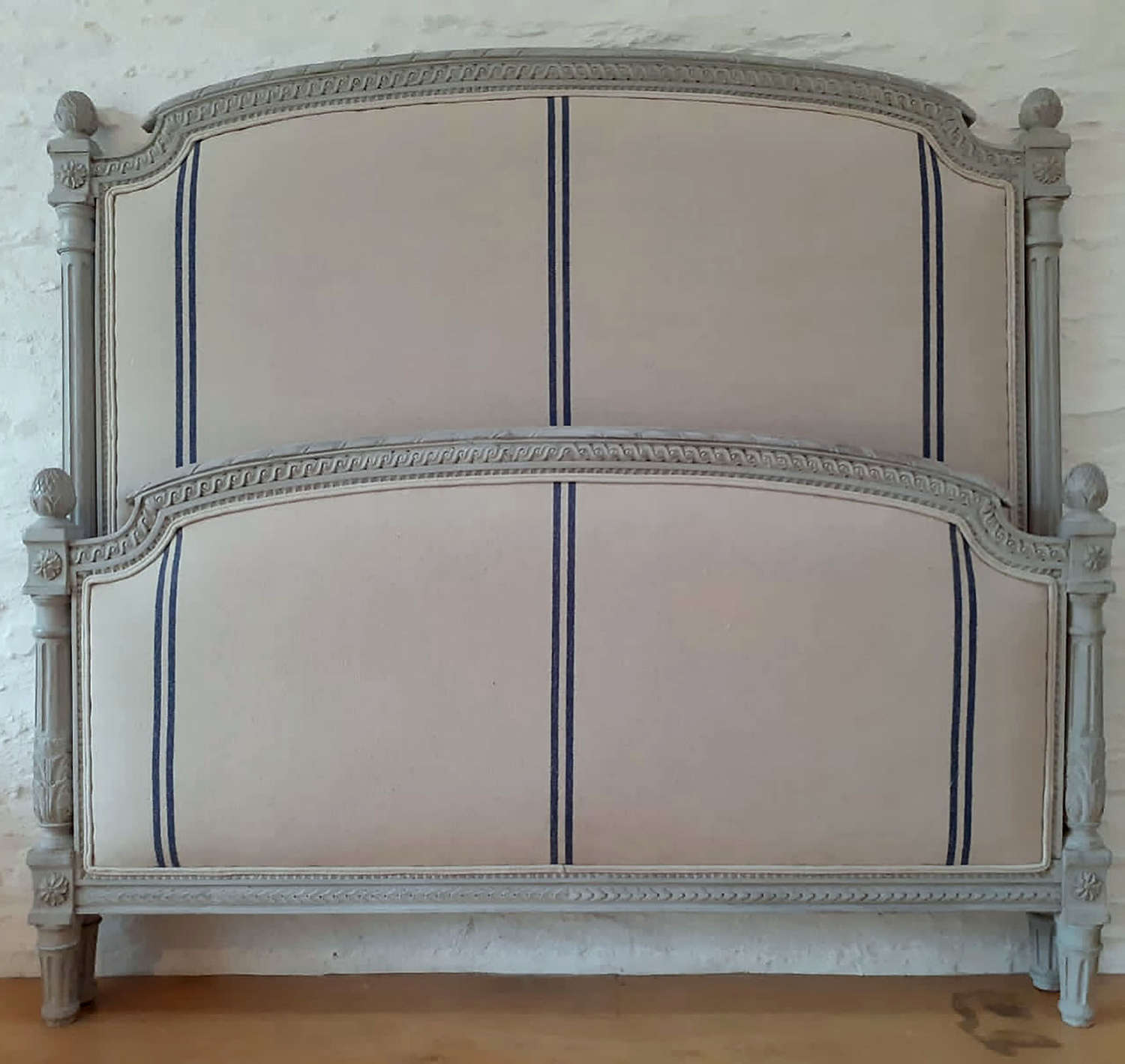 Late 19th Century King size Louis XVI style bedstead