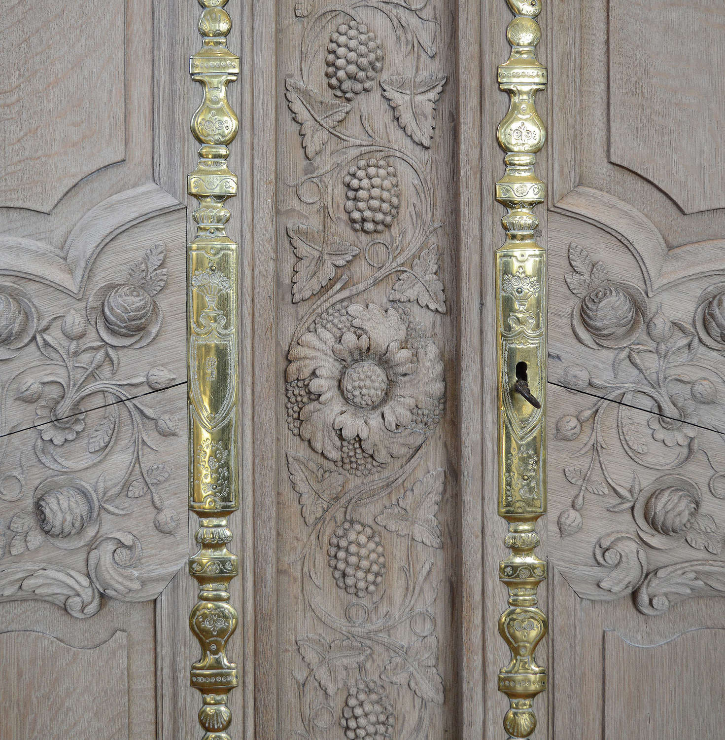 Large Early 19th century Norman Armoire