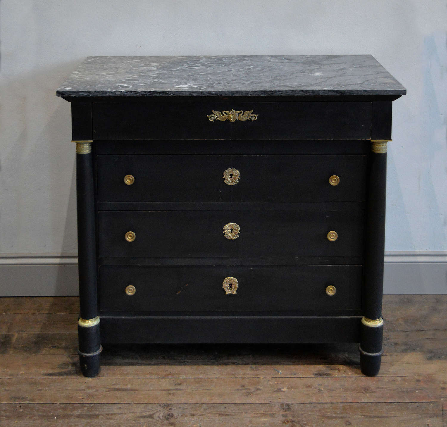 19th Century Empire style commode