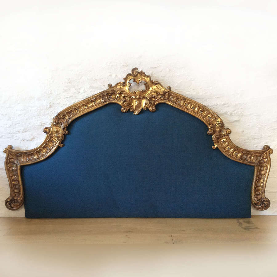 19th Century Giltwood Venetian Super-king size Headboard