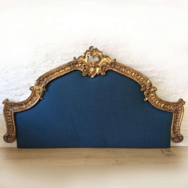 19th Century Giltwood Venetian Super-king size Headboard
