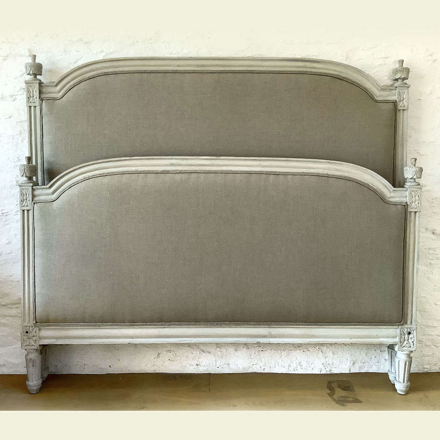 19th Century Louis XVI stryle king size bedstead