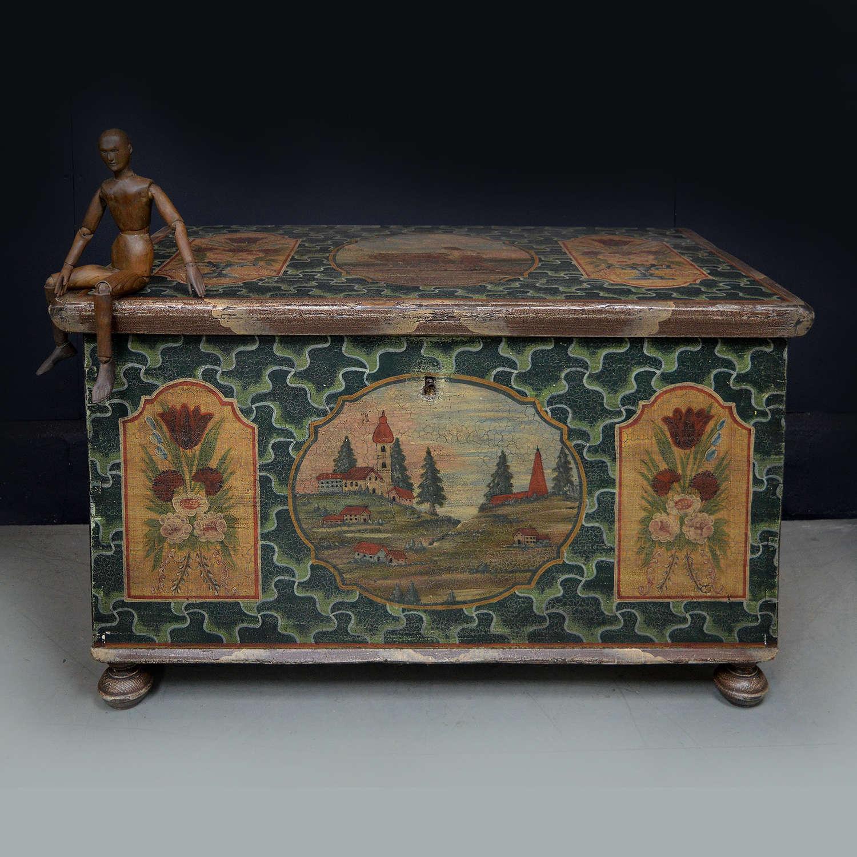 19th Century Böhmerwald Dowery chest