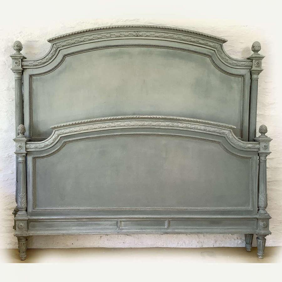 Louis XVI style King size Bedstead c1900
