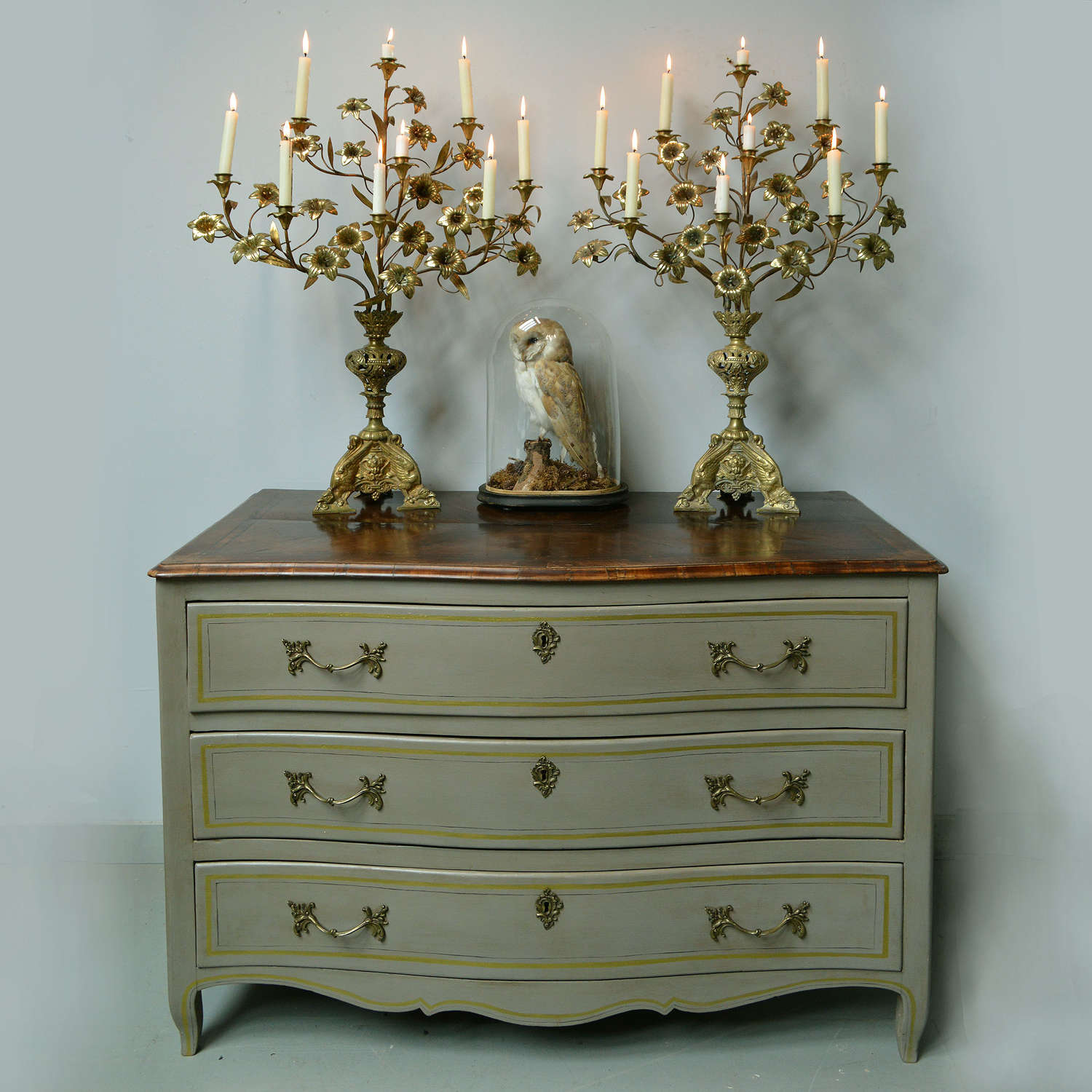 Large 18th Century Louis XV St Malo commode