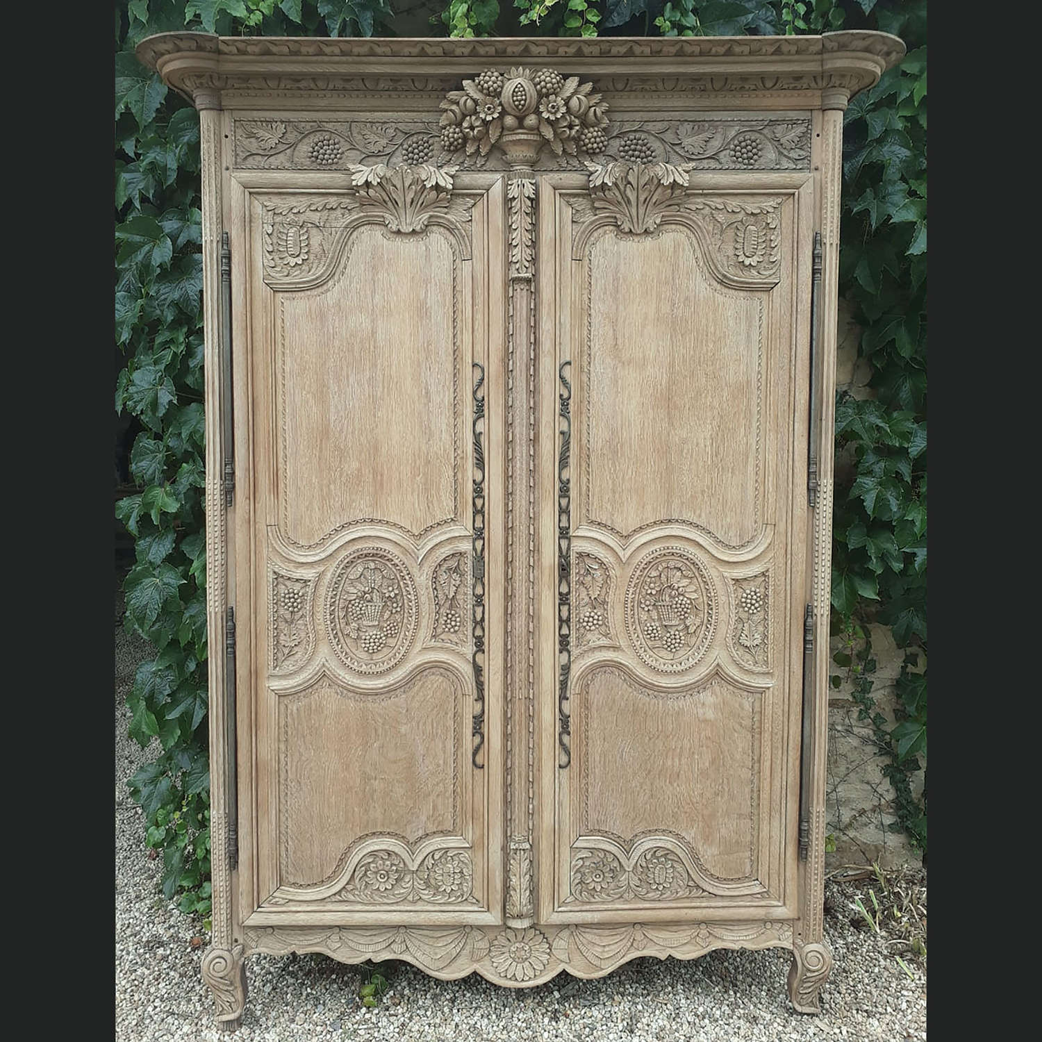 18th Century Norman Marriage Armoire